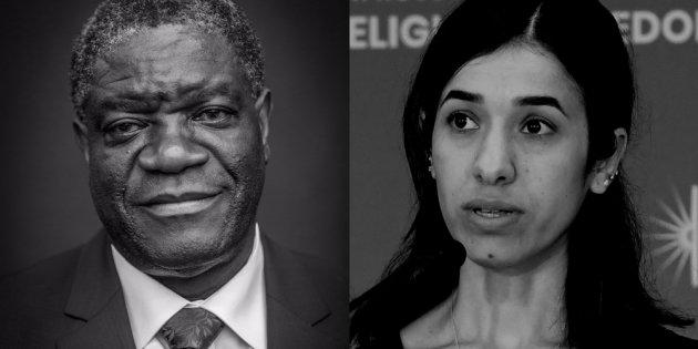 Congolese Denis Mukwege, Iraq's Nadia Murad win 2018 Nobel Peace Prize