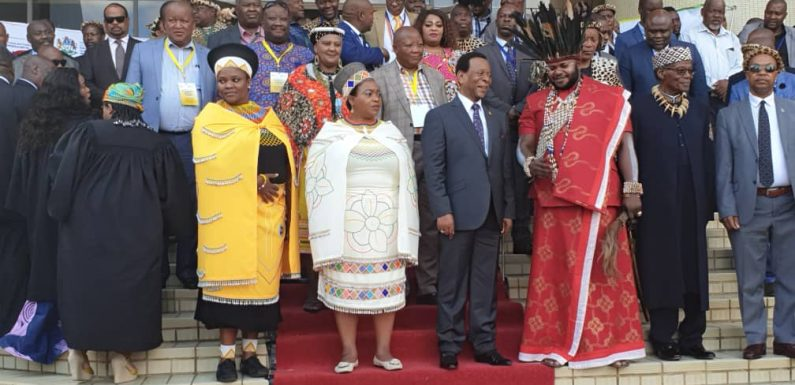 King Fabrice Zombi Kavabioko invited at KZN Provincial House of Traditional Leaders in Ulundi