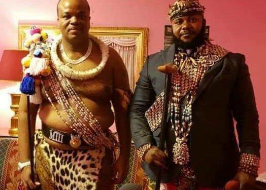 Le chef traditionnel, le roi Zombi Kavabioko, pour unifier les Africains